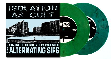 ISOLATION AS CULT / ABORTICIDIO Split EP (marble green)