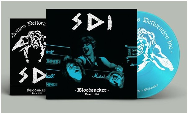 "S.D.I. ""Bloodsucker Demo 1986"" (diehard blue vinyl)"