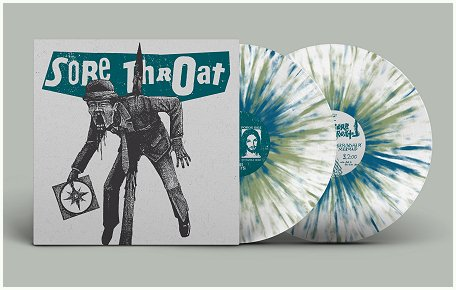 "SORE THROAT ""Death to capitalist Halmshaw"" 2xLP (ltd. splatter)"