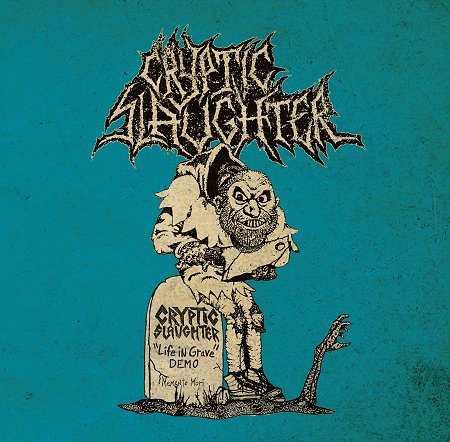 "CRYPTIC SLAUGHTER ""Life in grave + rarities 85/87"" (black)"