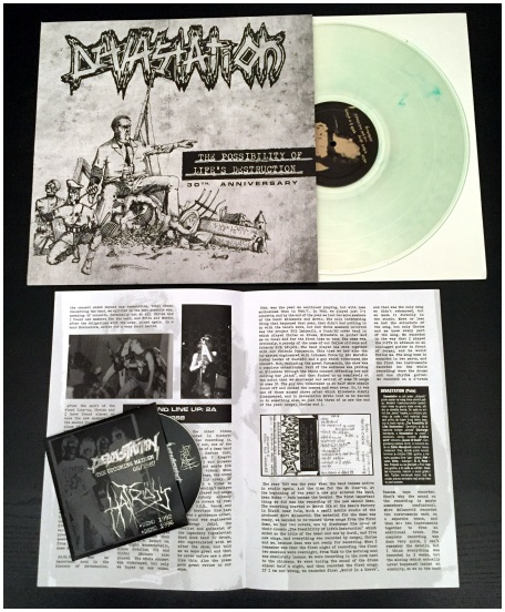 "DEVASTATION ""The possibility of life's.."" LP+CD (diehard)"