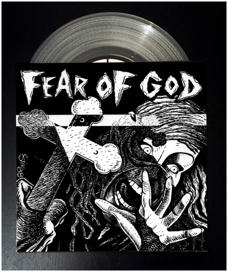 "FEAR OF GOD ""s/t"" (12"" version - clear vinyl)"