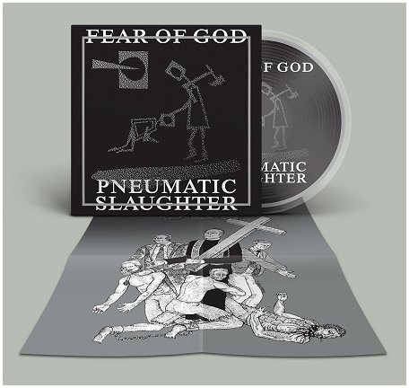 "FEAR OF GOD ""Pneumatic slaughter - extended"" (diehard Picture LP"