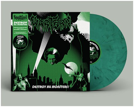 "WARTORN ""Destroy all monsters!"" (ltd. splatter)"