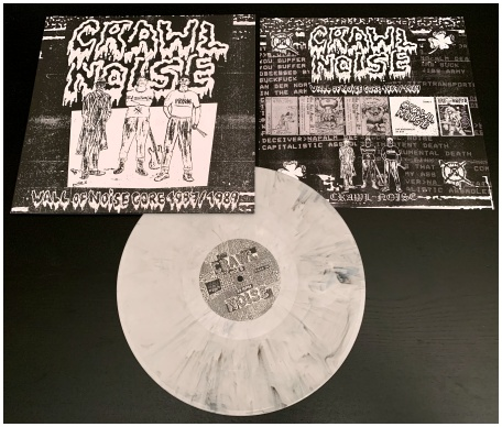 "CRAWL NOISE ""Wall of Noisecore 1987/89"" (diehard marbled)"