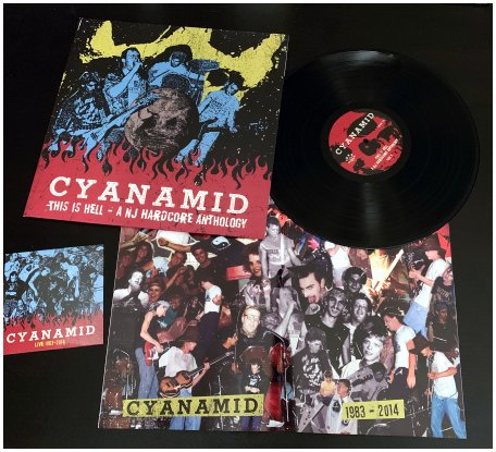 "CYANAMID ""This is hell - A NJ HC anthology"" LP+CD (black)"